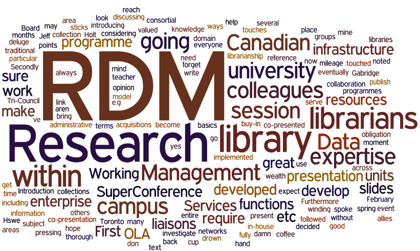 2014 OLA presentation on RDM