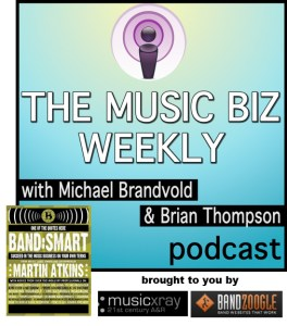 Music Biz Weekly Podcast with Martin Atkins