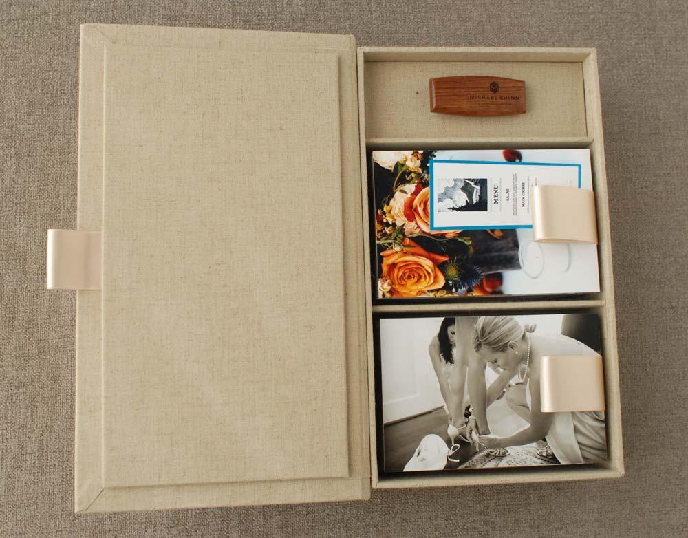 Michael Chinn - Handmade Wedding Print Boxes