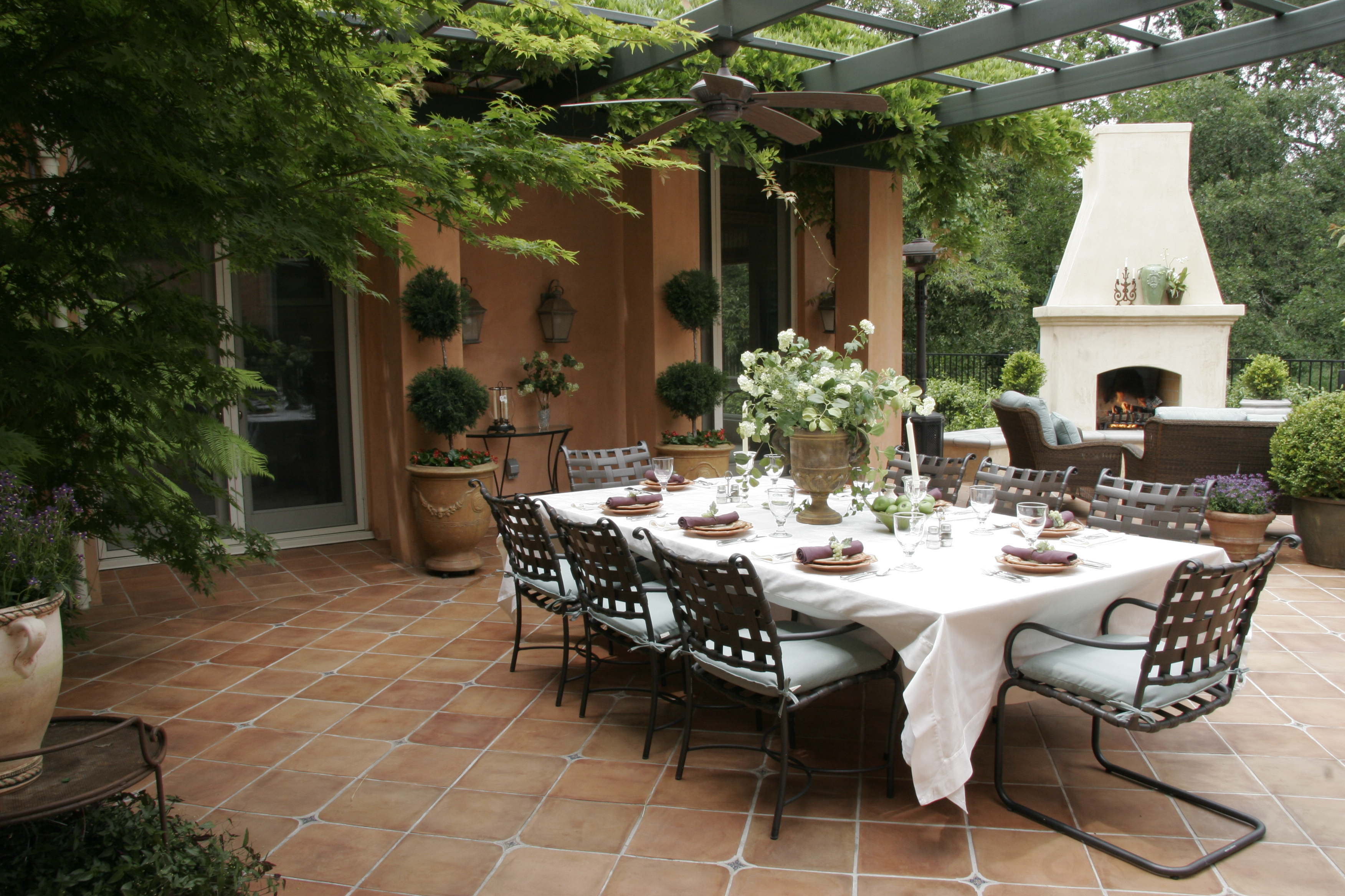 Outdoor Dining Elegant Outdoor Dining Michael Glassman And Associates