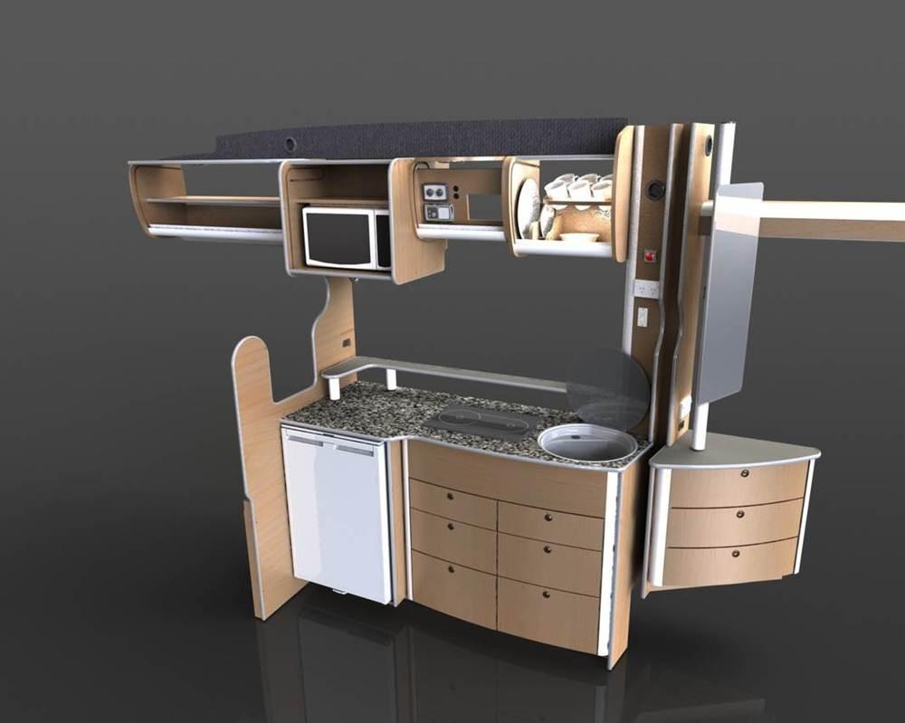 trakkaway motorhome new model photoview 3 rv kitchen cabinets Image
