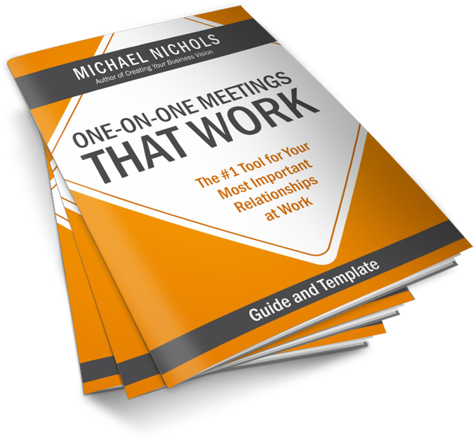One-on-One Meeting That Works - Free PDF Template Michael Nichols - 1 on 1 meeting template