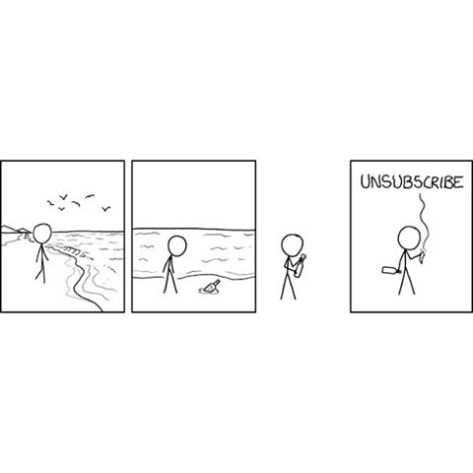 Why it's always important to get that #optin #xkcd