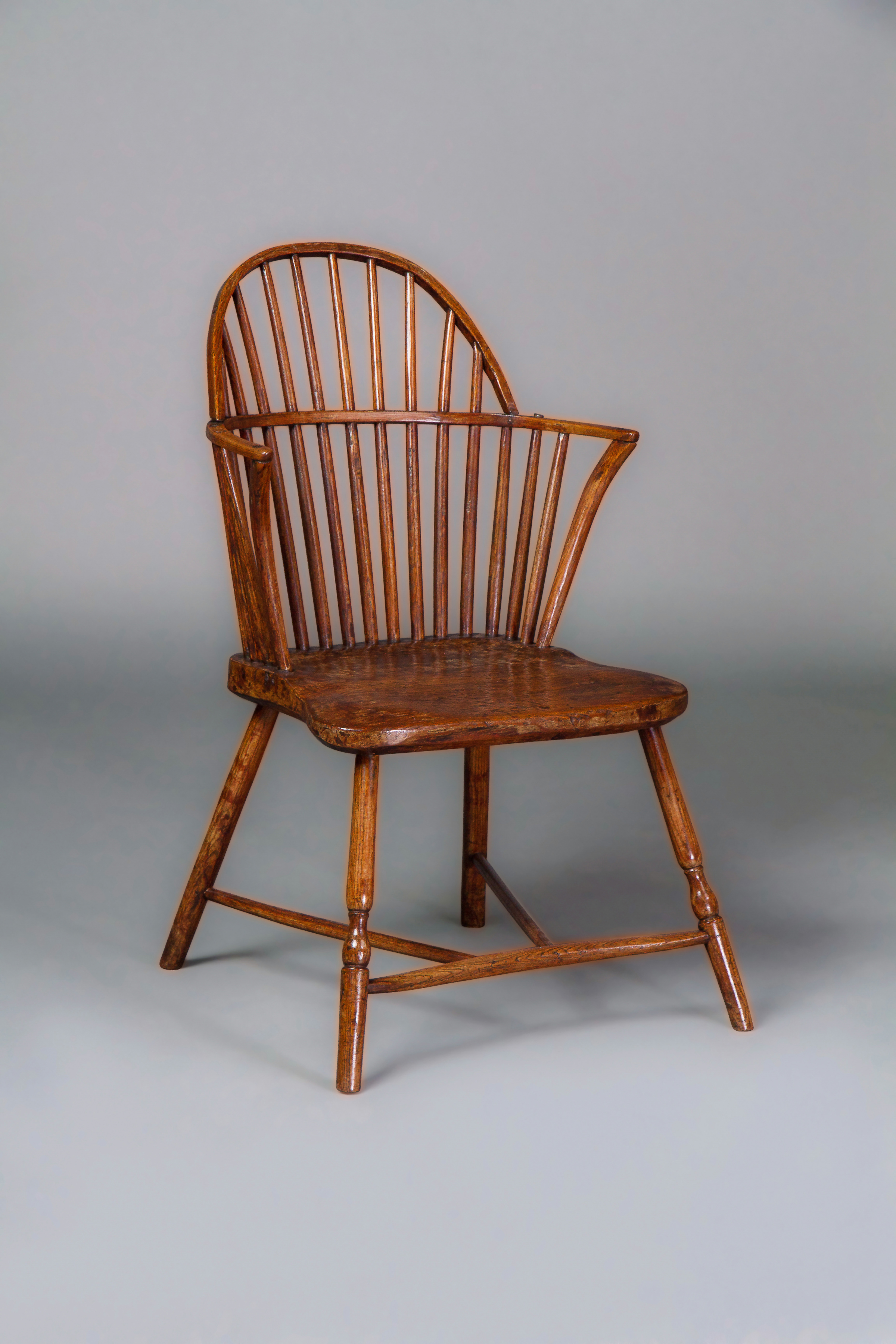 Gillows A Late 18th Century Ash Windsor Chair Almost Certainly For The American Market Michael Pashby Antiques
