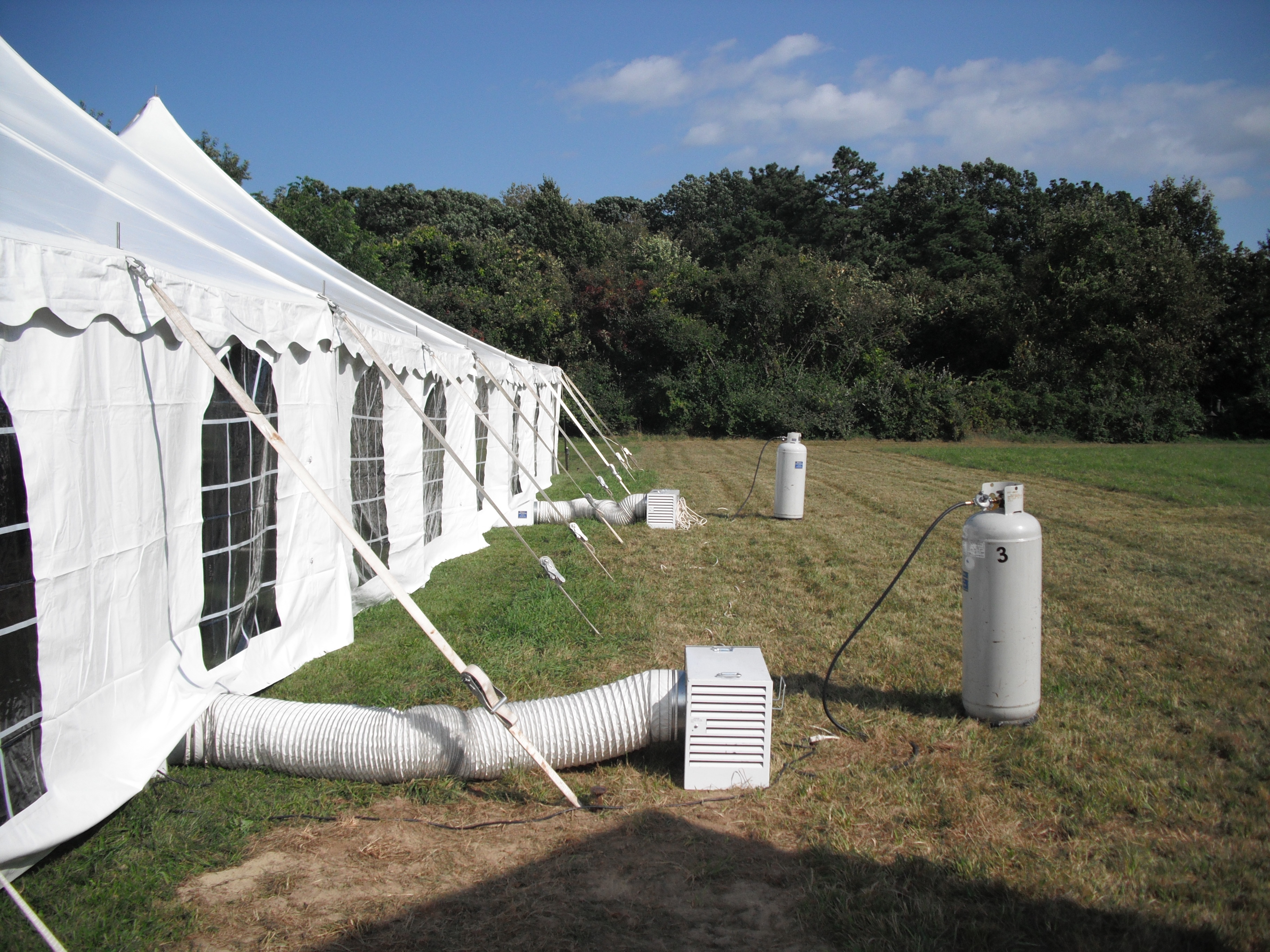 Tent Heaters For Autumn Air Michael39s Party Rentals Inc