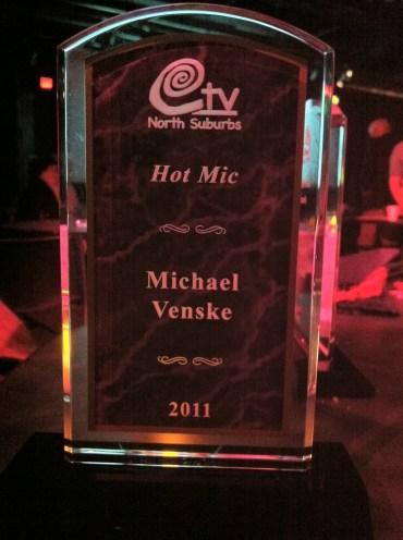 Honored! Roseville, MN, USA.