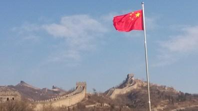 A view of The Great Wall at Badaling