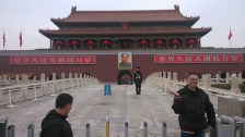 The Tiananmen Gate (Gate of Heavenly Peace) at the Forbidden City in Beijing