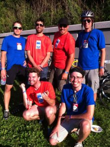 Powderhorn 24 Bike Race crews. Minneapolis, MN, USA.