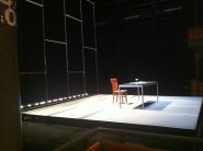 So excited to see Mike Daisey's show! Washington, DC.