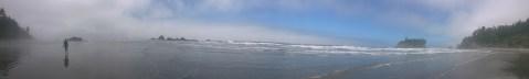 Panoramic of Ruby Beach