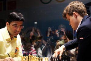Viswanathan Anand vs. Magnus Carlsen, 2013