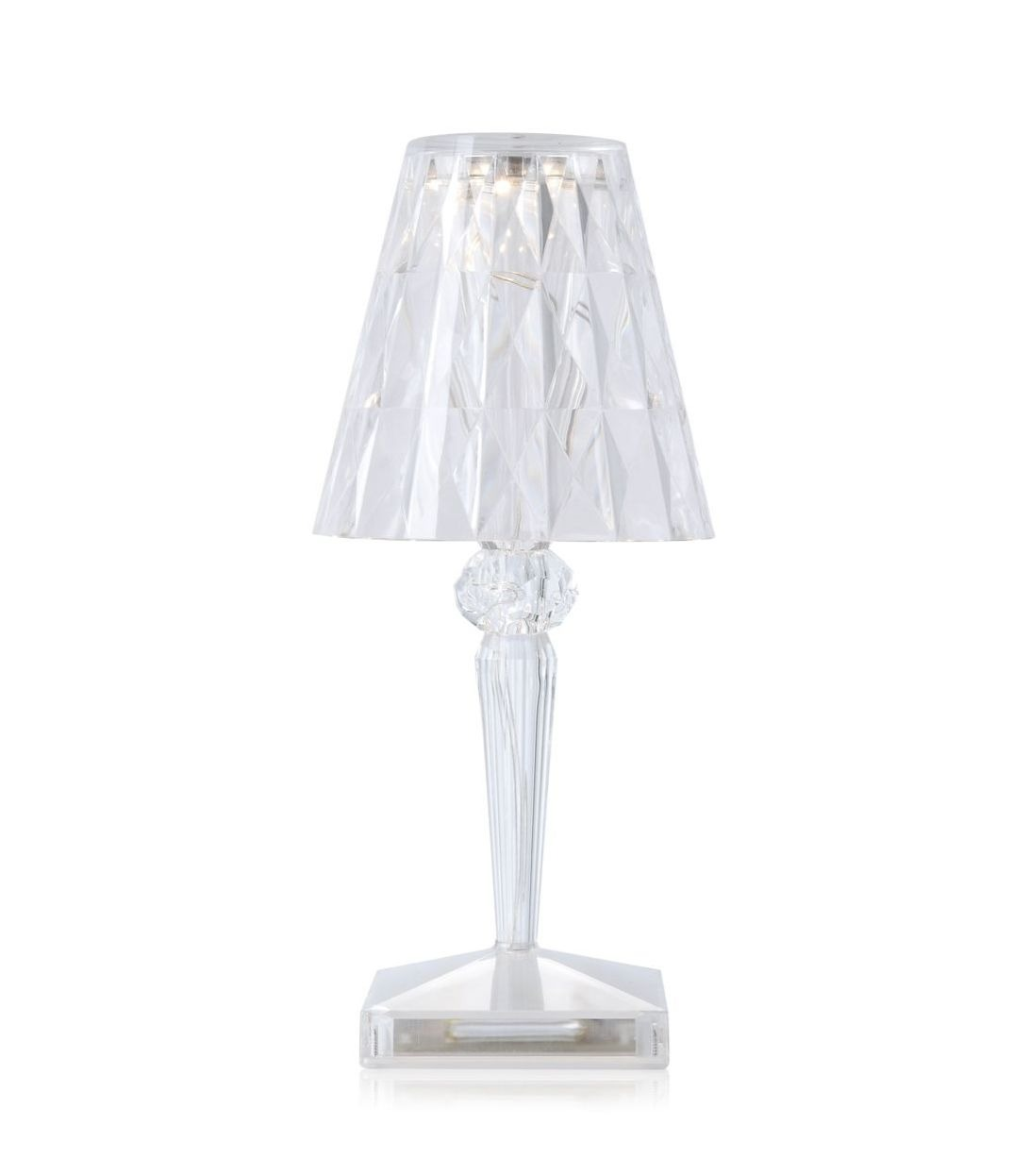 Lamp Kartell Battery Led Table Lamp Crystal Kartell