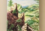 """""""My Refuge"""" Art Exhibit Peaceful Pagosa Valley Michelle East"""