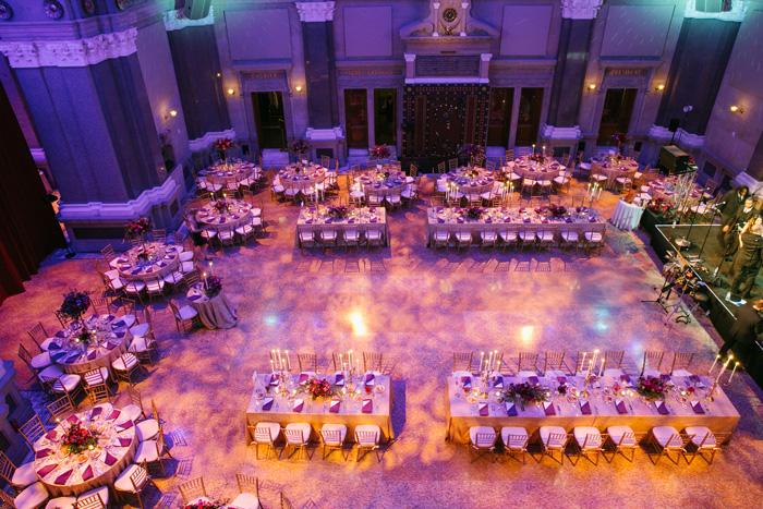 Round tables vs Rectangle tables for a wedding - Brooklyn Floral and