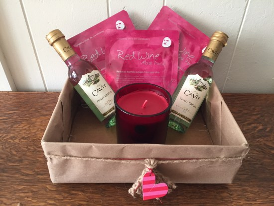 mkl michelleklare galentines valentines spa diy box
