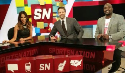 Friday, April 3rd: Co-Hosting SportsNation with Max and Marcellus!