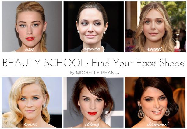 Beauty School Finding Your Face Shape - Michelle Phan \u2013 Michelle Phan