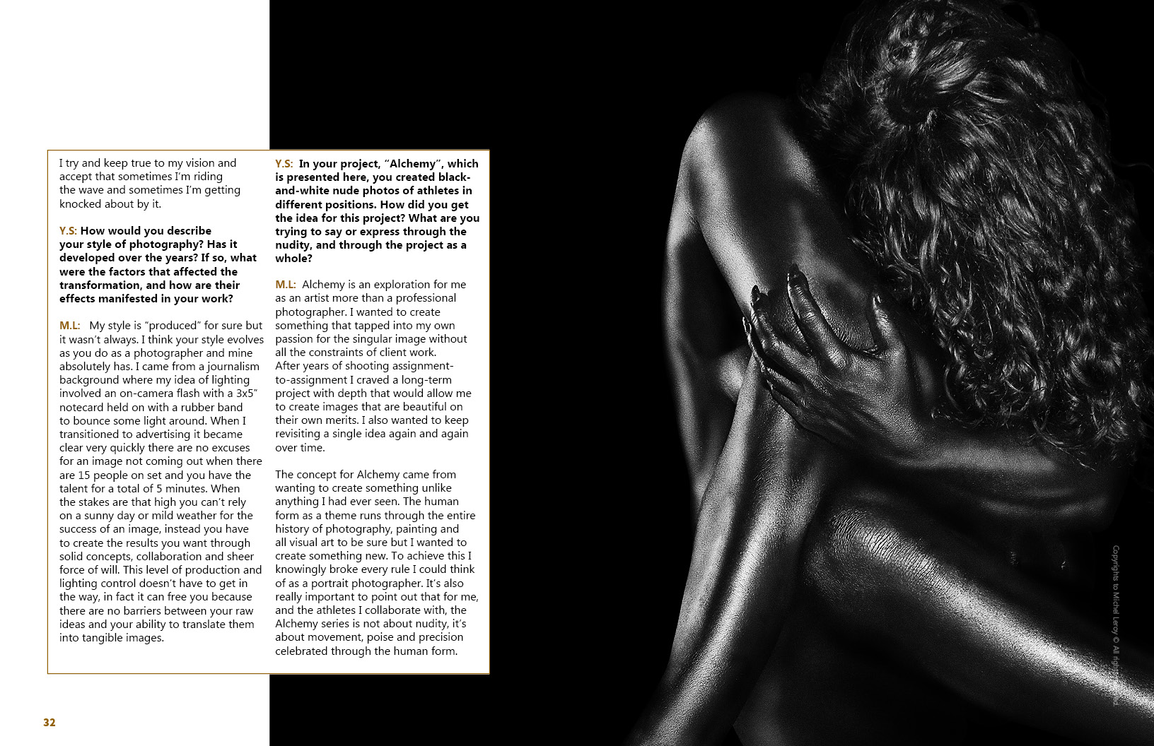 Leroy Lens Lens Magazine Exclusive Interview With Photographer Michel Leroy