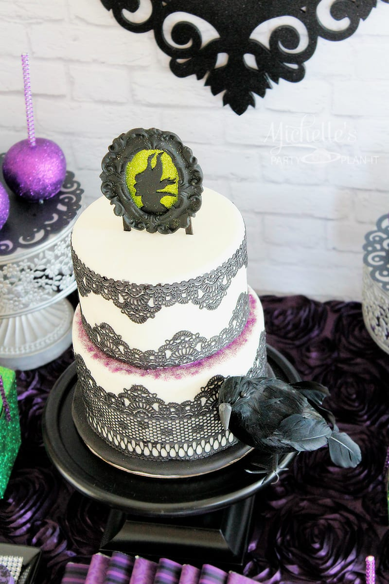 Maleficent Party Ideas Featuring Creative Purple And Black
