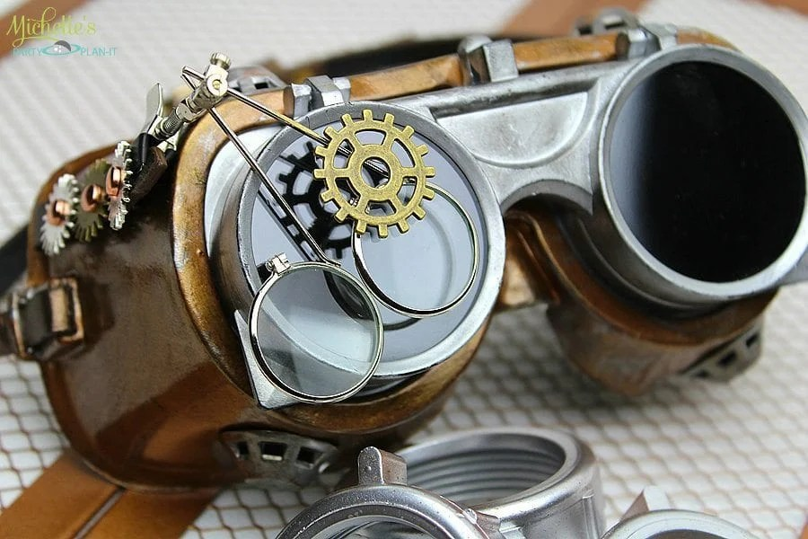 steampunk goggles diy the image kid has it. Black Bedroom Furniture Sets. Home Design Ideas