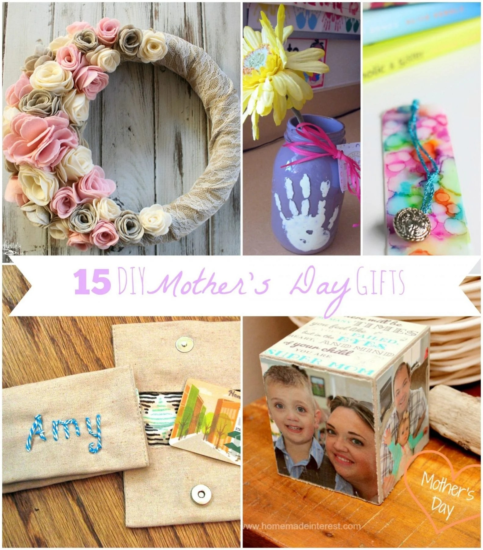 Diy Mothers Day Gifts From Baby Diy Mother 39s Day Gifts Michelle 39s Party Plan It
