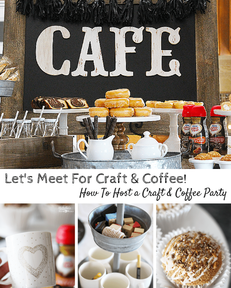 Let's Meet For Craft & Coffee!