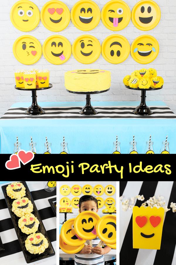 Diy Emoji Party Ideas