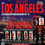 5 days out from Jon Lindsay's LA Championship show July 20th 2013