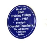 Oswald Chambers; Bible