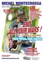 End All Your Wars - Beendet All Eure Kriege im Inninger Spectacel