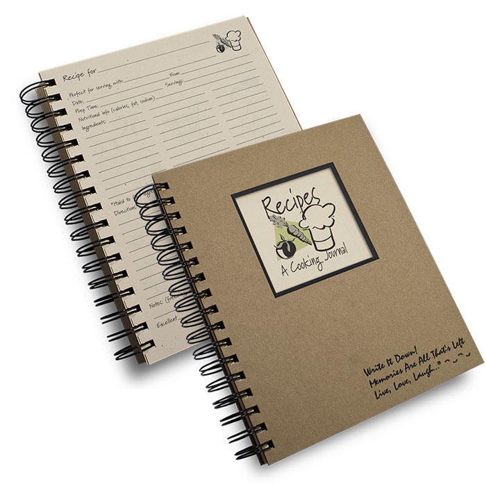 Recipe - A Cooking Journal Journals Unlimited - recipe journals