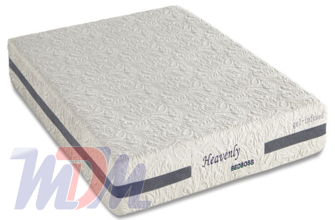 Beds Memory Foam Mattress Heavenly A Gel Infused Memory Foam Mattress From Bed Boss