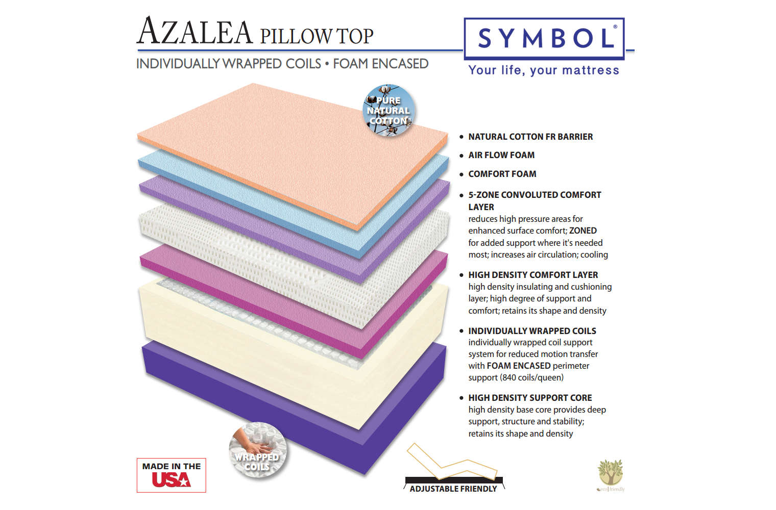 How Much Does It Cost To Ship A Mattress Azalea Pillow Top Affordable Luxury Mattress
