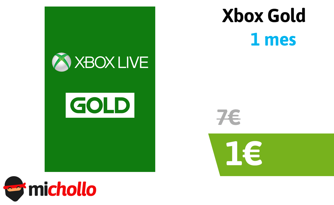 Suscripcion Xbox Live Gold 1 Mes Consigue 1 Mes De Xbox Gold O Xbox Gamepass Michollo