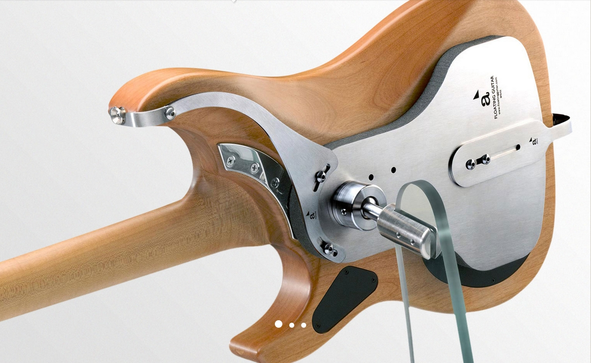 Floating Guitars Des Supports De Guitares Invisibles Et Classieux Michtoblog