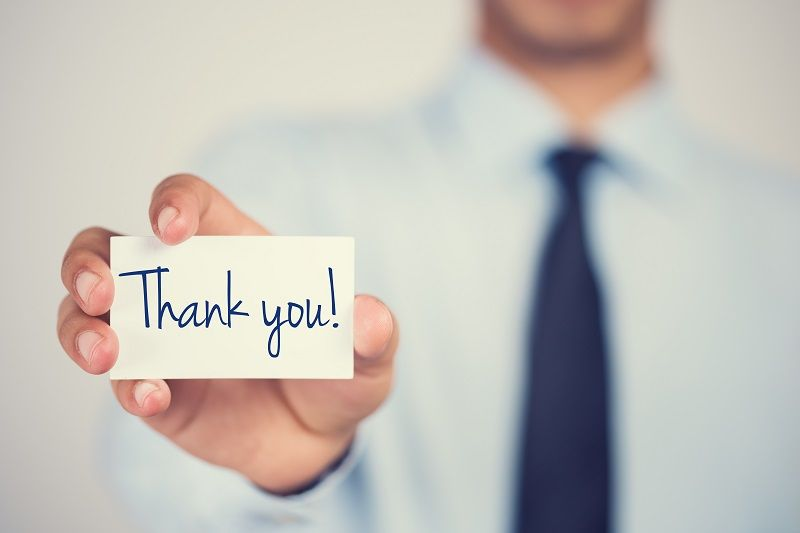 Breaking Down A Job Interview Thank You Note - Mici
