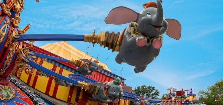 Dumbo Ride at Disney World