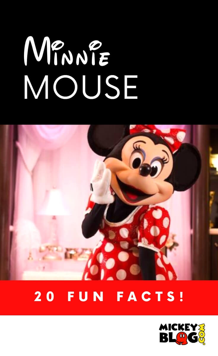 20 fun facts about Minnie Mouse