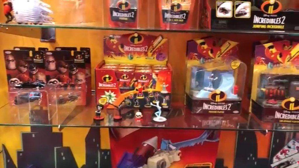 Toy Fair Incredibles 2