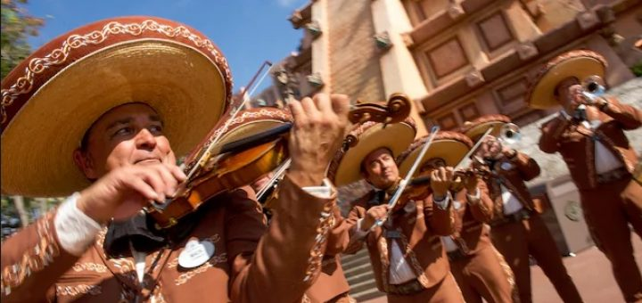 Mariachi band at Epcot
