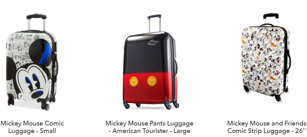 Mickey luggage