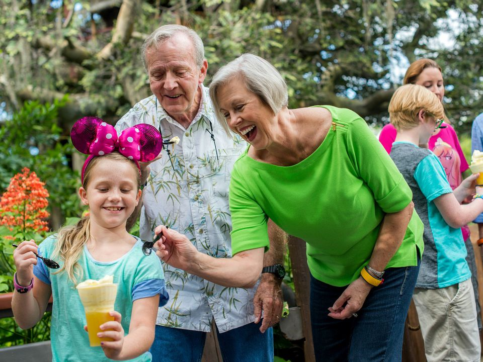 Grandparents in Disney