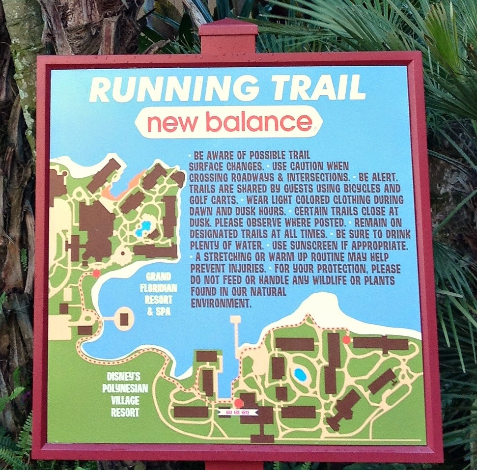 New balance running trail disney