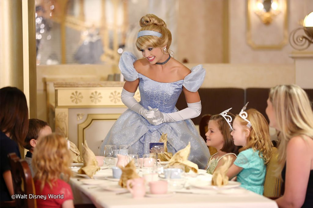 Cinderella's Royal Table Princesses