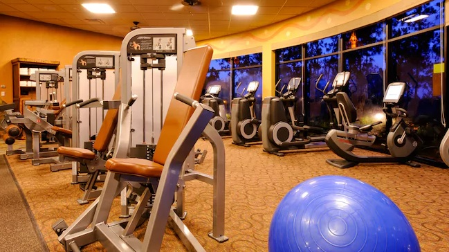 fitness center Disney