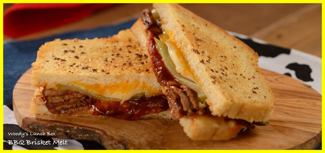 Woody's Lunch Box Brisket Melt