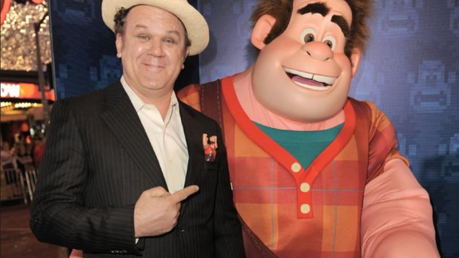 John C. Reilly Wreck it Ralph