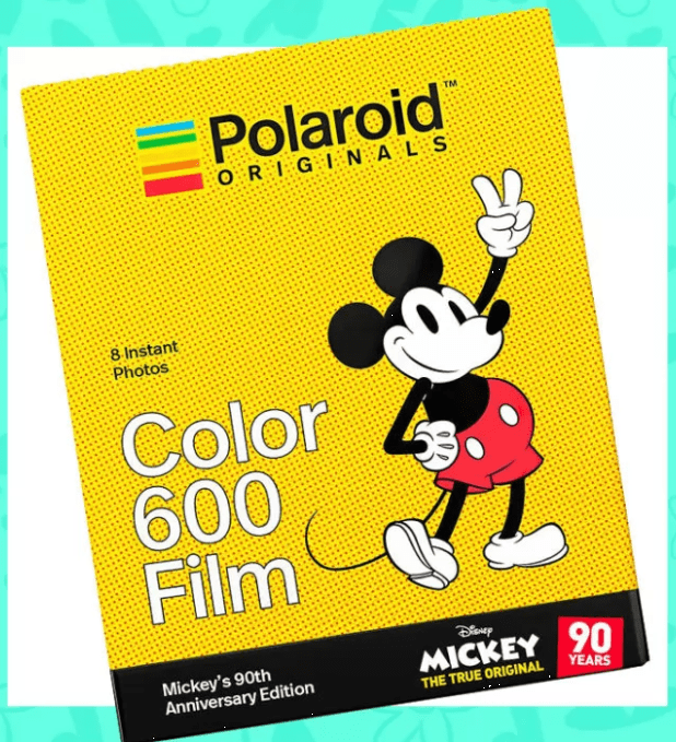 Mickey Mouse Polaroid Camera