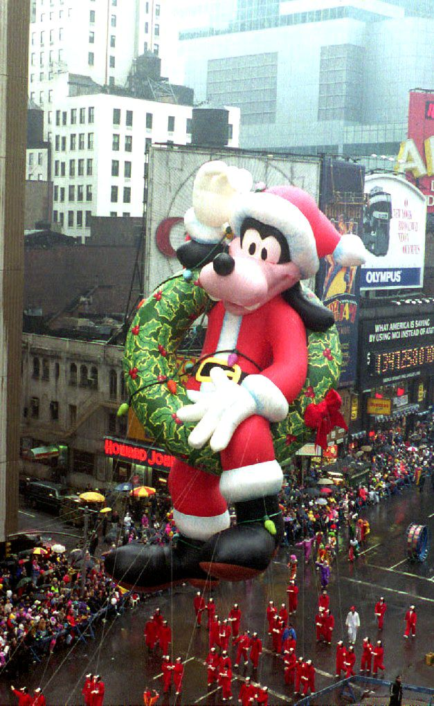 Goofy Thanksgiving Day Parade